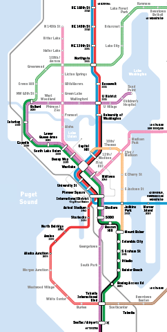 Seattle Subway About Us - Seattle on the us map